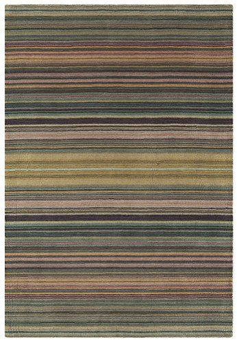 Teppich Wohnzimmer Carpet modernes Design PIMLICO STREIFEN RUG 100 - wohnzimmermöbel günstig online kaufen