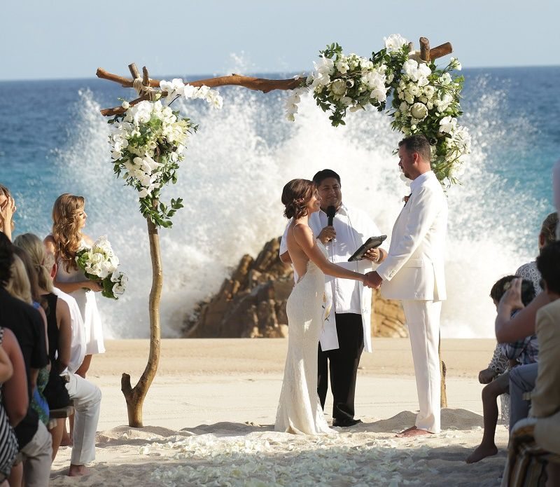Turtle Beach Wedding Cabo San Lucas Weddings One Only Palmilla Elena Damy Planners