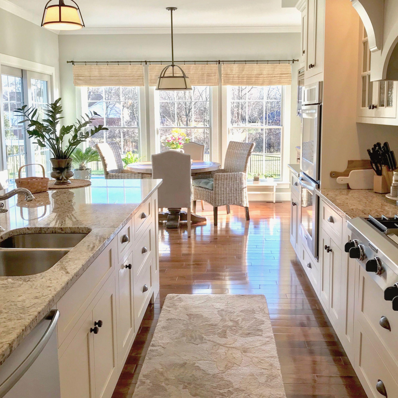 Springtime Indoors, Kitchen Design, Kitchens, Off-white