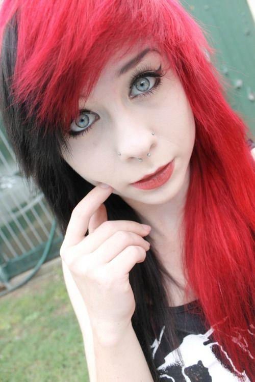 Red Black Hair Google Search Hair Goals Pinterest Red