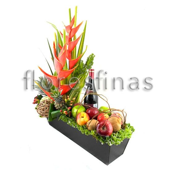 Arreglo Para Hombres Con Fruta Petrus Envia Flores Centro