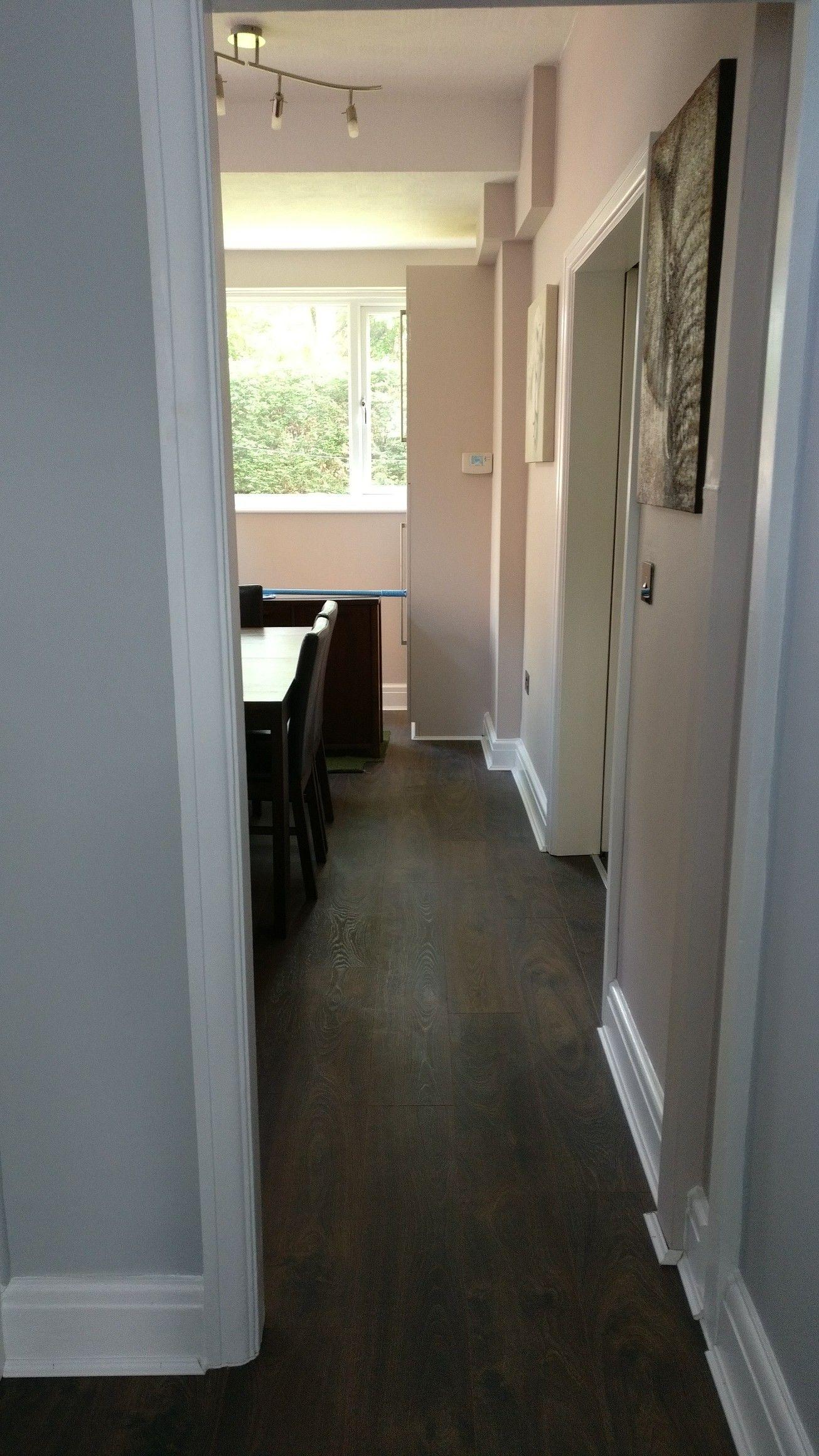 hallway leading to dining room hallway wall paint. Black Bedroom Furniture Sets. Home Design Ideas