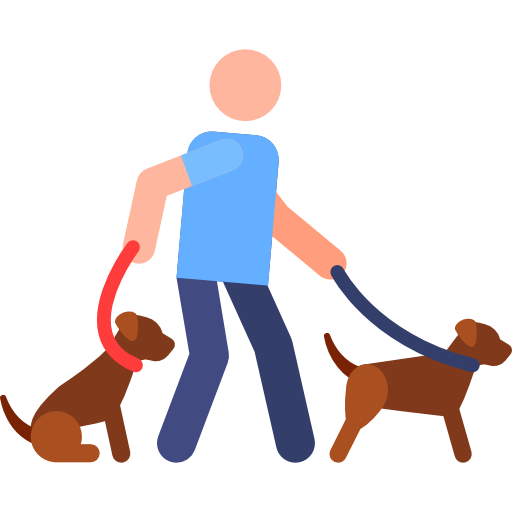 Walking The Dog Free Vector Icons Designed By Freepik Vector Free Free Icons Vector Icon Design