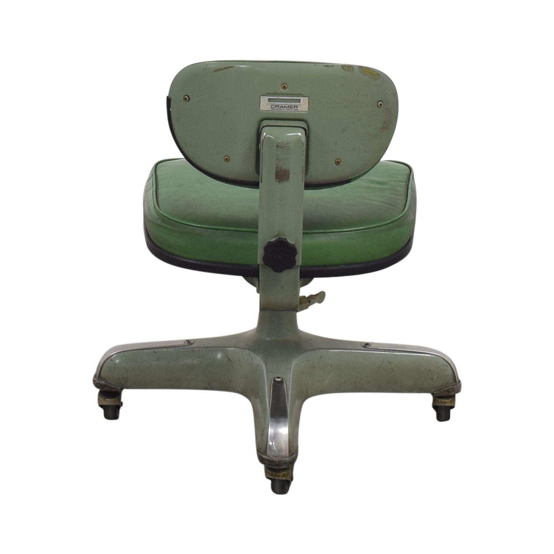 Vintage Cramer Industries Swivel Office Chair Swivel Office