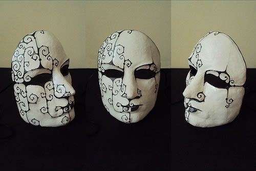 Como Fazer Mascara De Papel Mache Com Imagens Mascara De Papel
