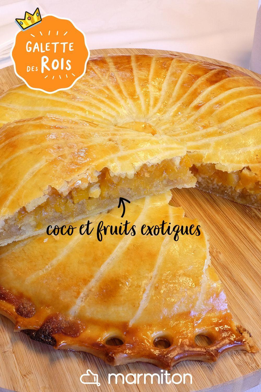 Galette Des Rois Recette Marmiton : galette, recette, marmiton, Galette, Fruits, Exotiques, Recette, Rois,