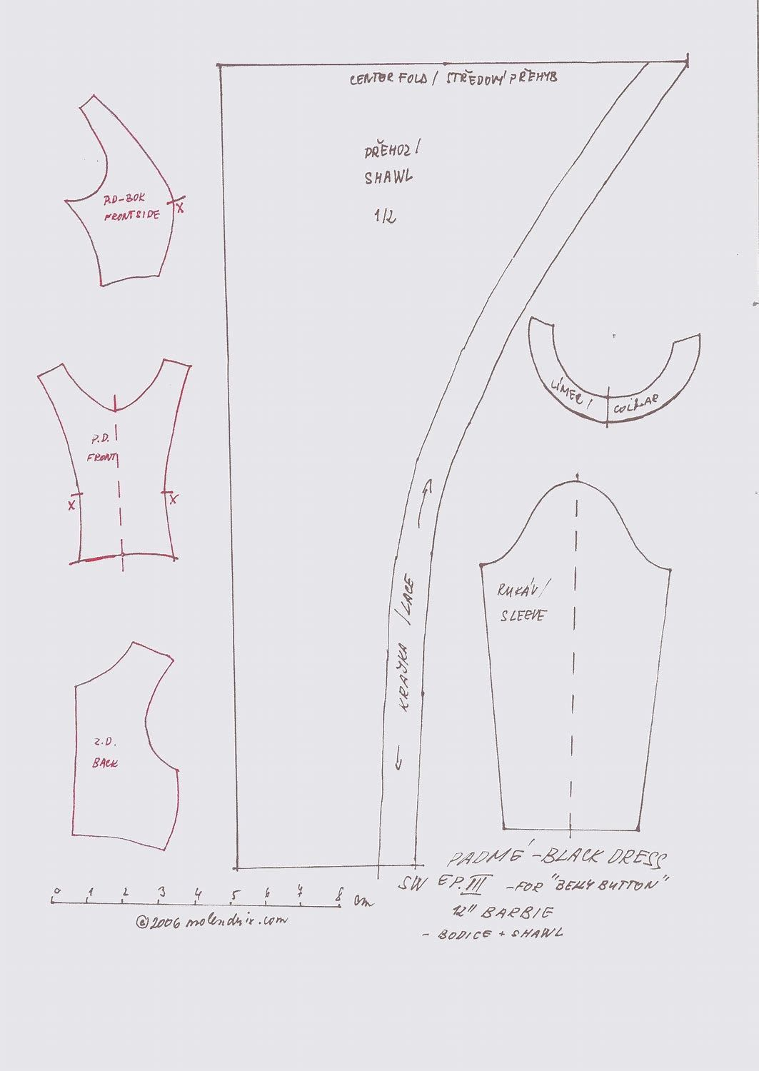 Free Printable Doll Clothes Patterns Interesting Inspiration Ideas