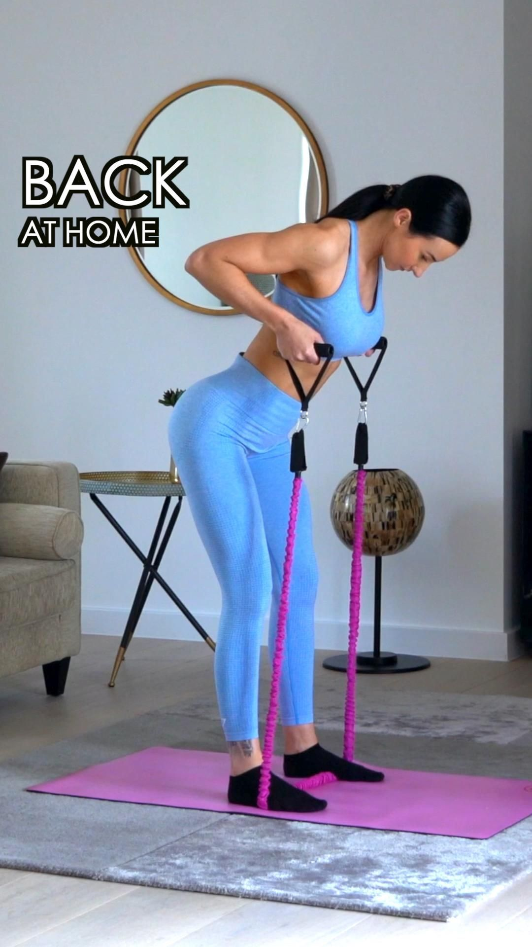 Back Workout At Home from the Strong&Sxy app