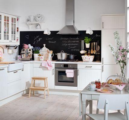Tafelfarbe: Tipps zum Selbermachen | Küchenrückwand, Tafelfarbe und ...
