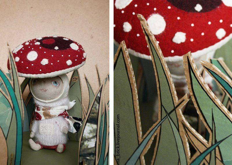 Masha Brick's dolls