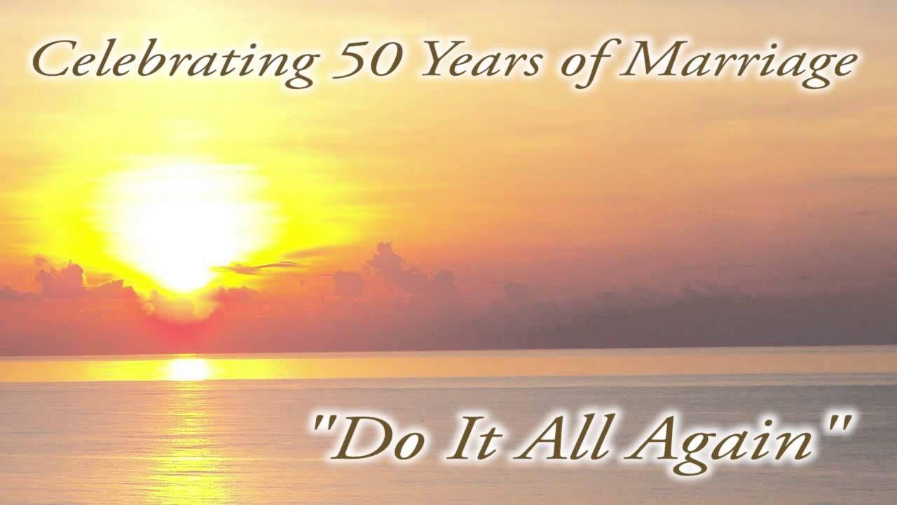 do it again 50th anniversary