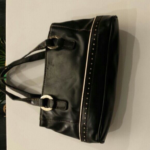 Purse Black very cute, Tommy Hilger push. So cute!;) Tommy Hilfiger Bags Clutches & Wristlets