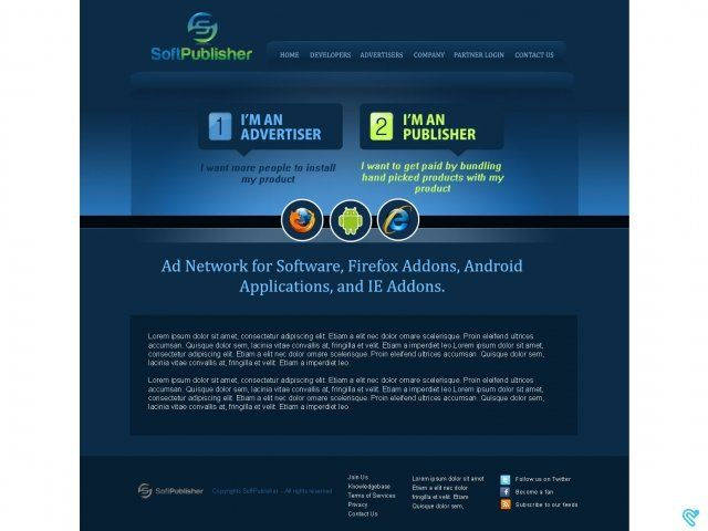 Ad Network for Software, Firefox