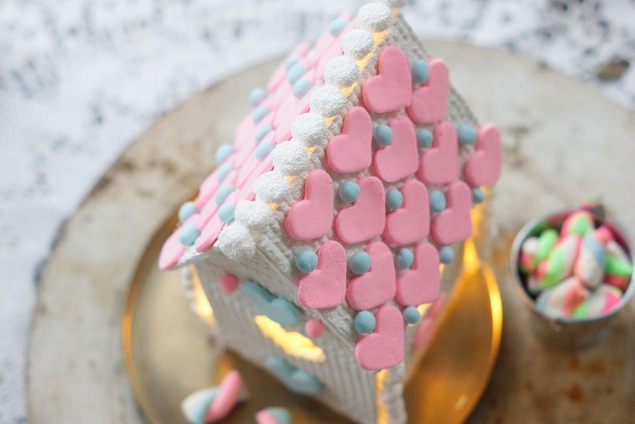 Pitsinen piparkakkutalo on helppo tehdä. Ei tarvitse sotkea käsiä kuumaan sokeriliimaan ja myös lapset voivat osallistua tämän koristeluun. Talo...