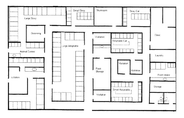 Noise in the animal shelter environment building design for House plans with pet rooms