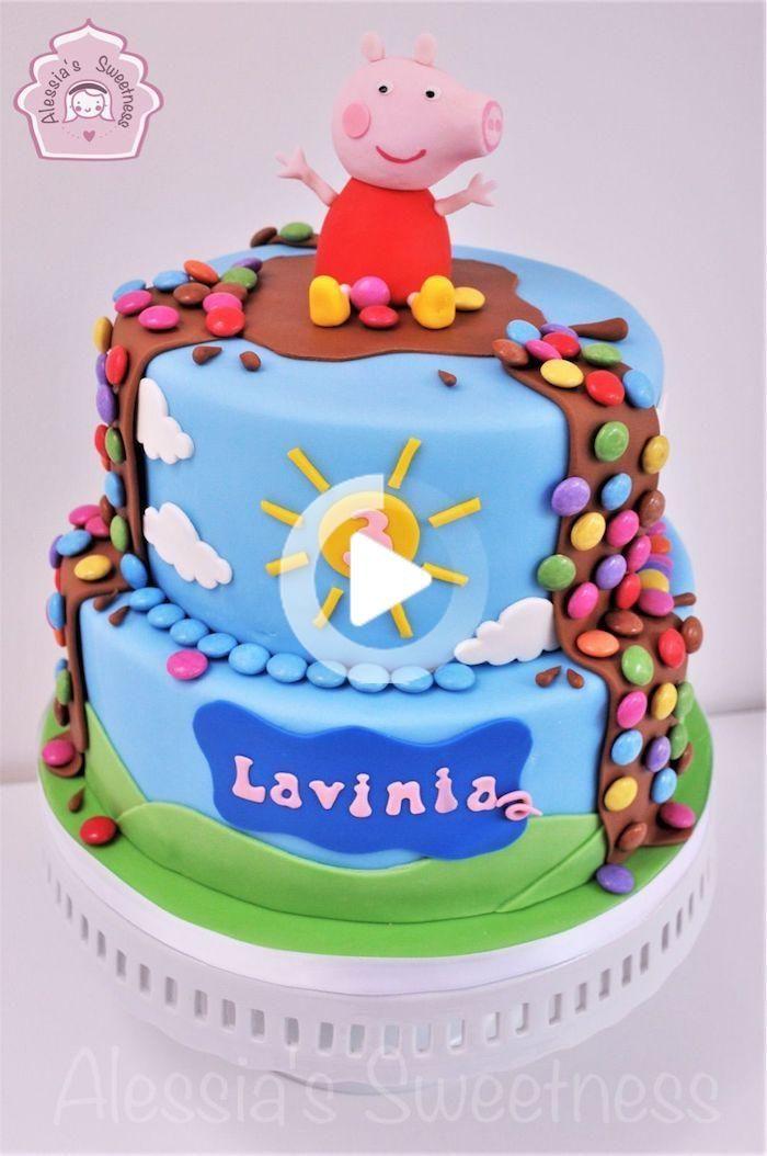 1001 Peppa Wutz Torte Ideen Fur Einen Lustigen Kindergeburtstag Pig Birthday Cakes Peppa Pig Birthday Cake Pig Cake
