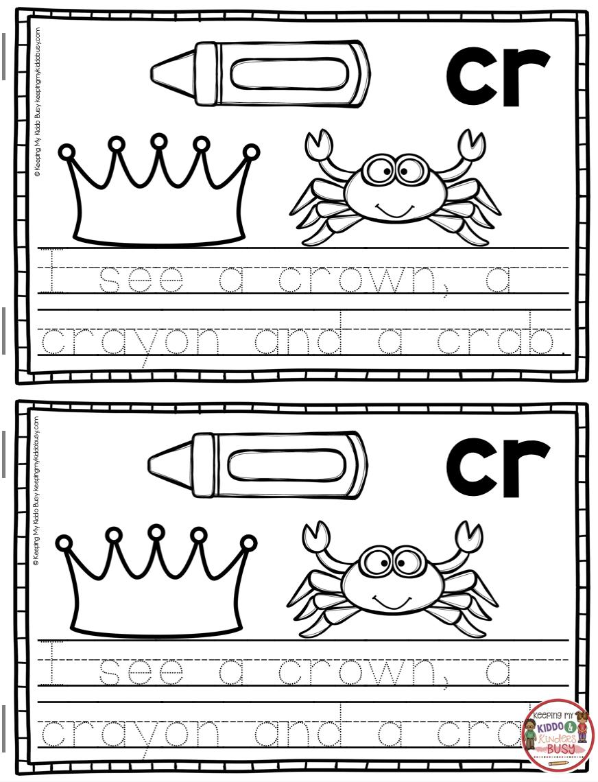Phonics Unit 5 Consonant Blends Freebie Keeping My Kiddo Busy Consonant Blends Kindergarten Phonics Kindergarten Blends Activities [ 1140 x 872 Pixel ]