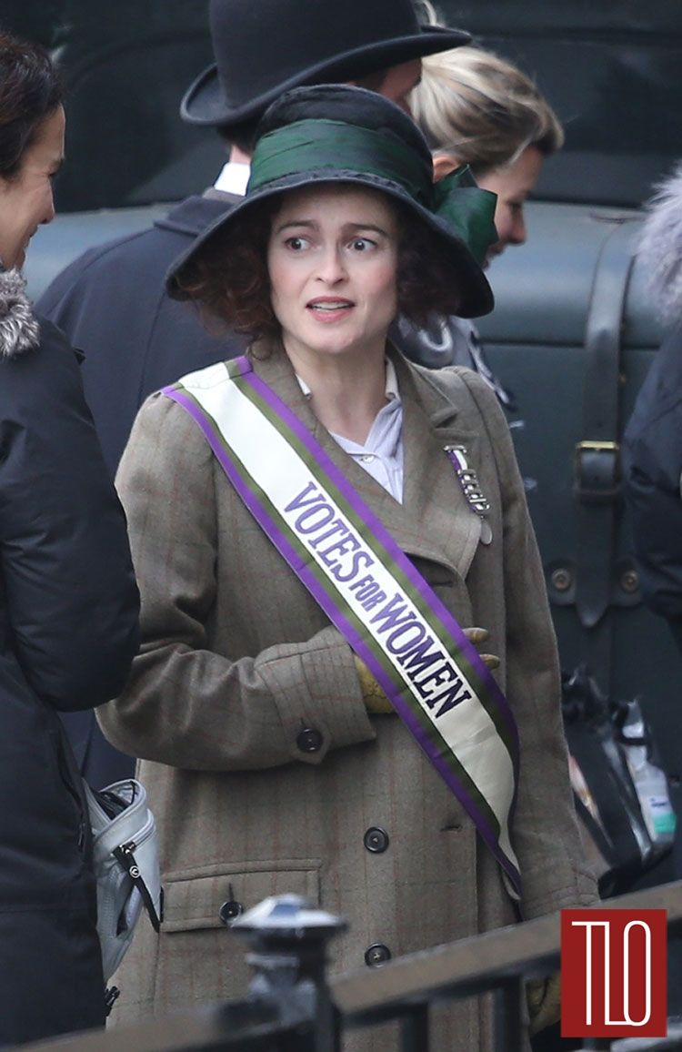 Helena Bonham Carter Suffragette Tom Lorenzo Site Tlo Suffragette Movie Suffragette Emmaline Pankhurst [ 1156 x 750 Pixel ]