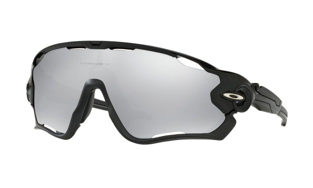 00c1df587b Oakley Sunglasses Jawbreaker Halo Collection Mens Polished Black Frame NO.  OO9290-1931
