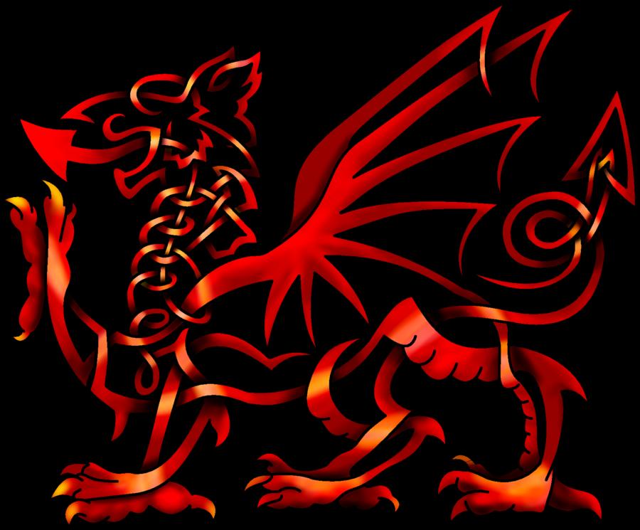 Celtic Knot Welsh Dragon by KnotYourWorld … Celtic