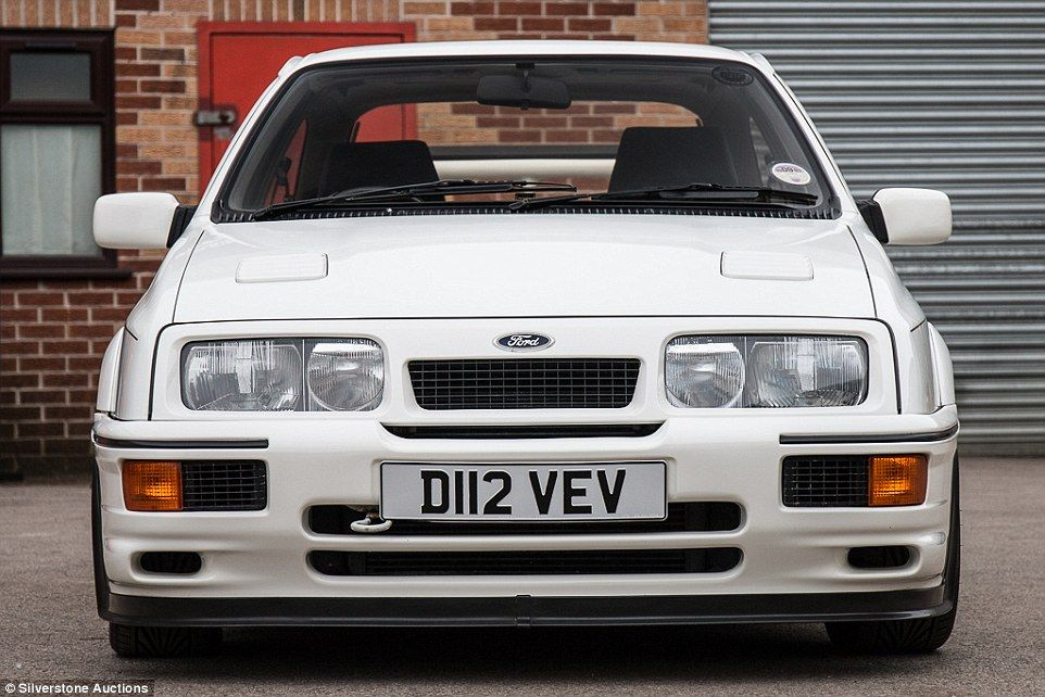 The First Ever Ford Sierra Cosworth Rs500 Will Be Sold This Month