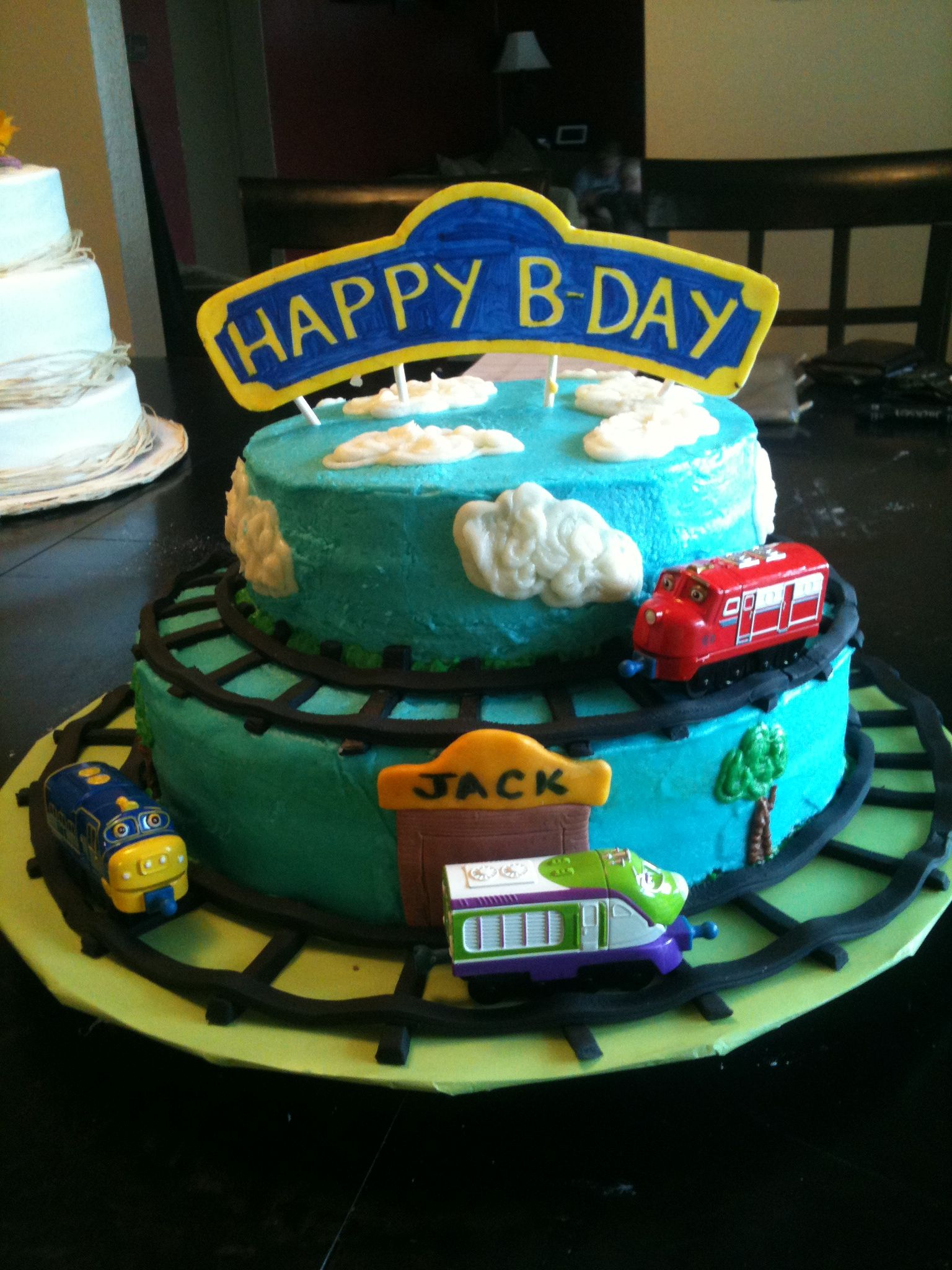 Chuggington Cakesboys Pinterest Chuggington cake Birthdays