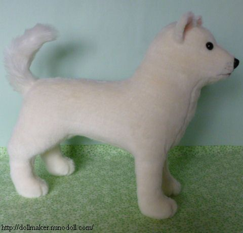 A simple, adorable, and easy to follow pattern for a stuffed dog ...