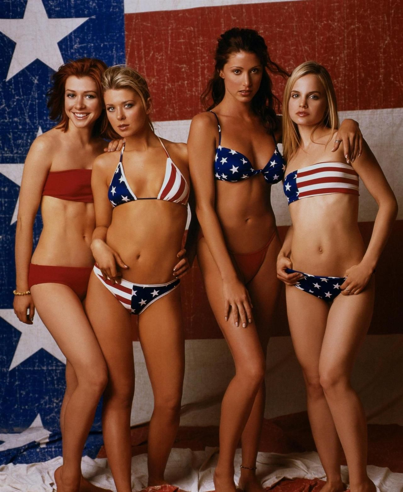 American Pie Uncensored Video michelle, vicky, nadia & heather - alyson hannigan, tara