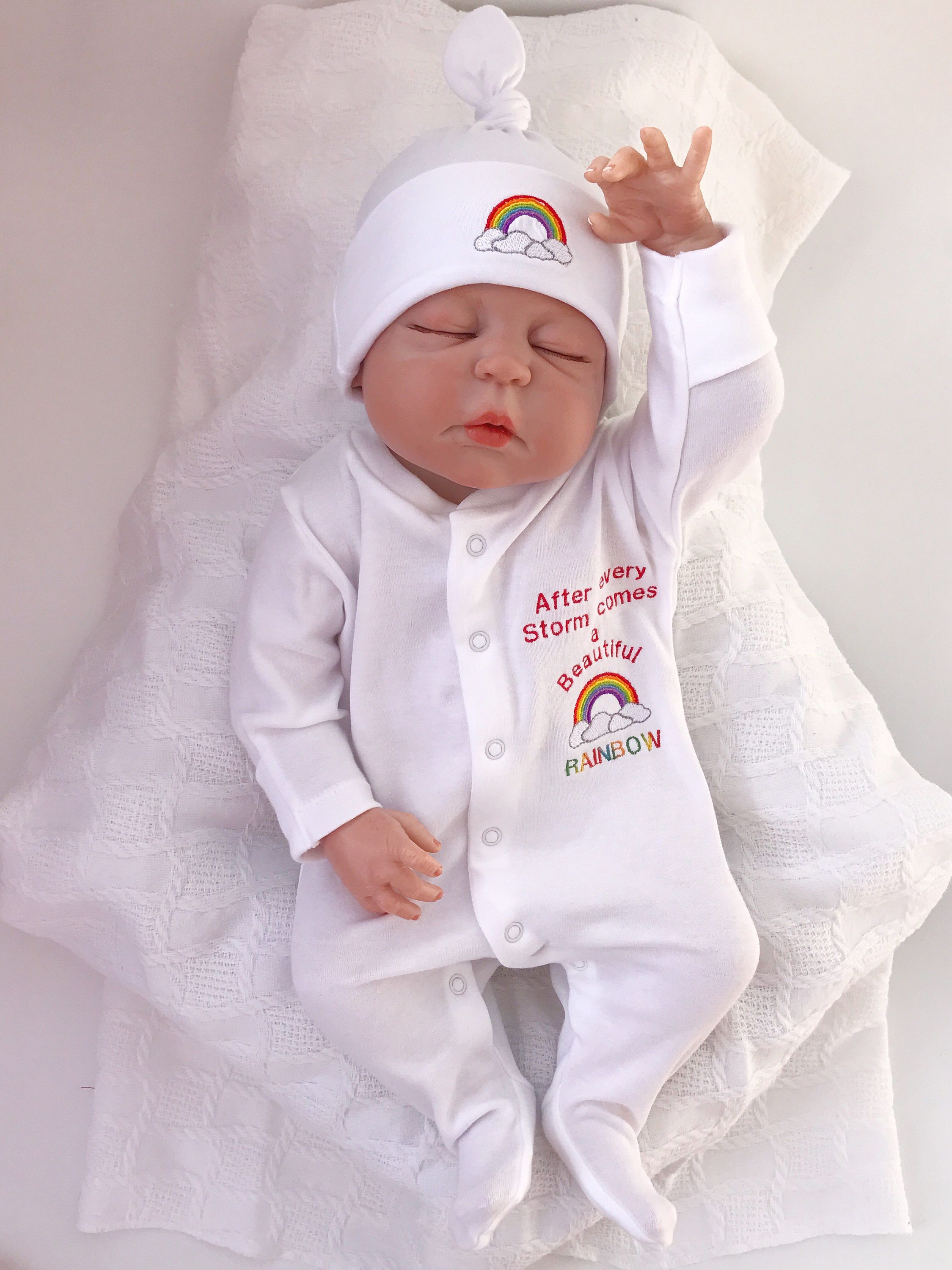 Rainbow Baby Clothes, Baby Shower Gifts, Rainbow Baby, Baby Girl