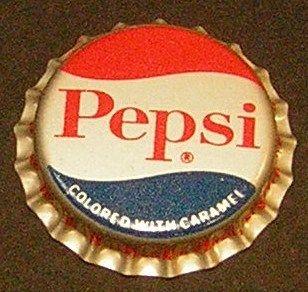 Vintage Pepsi Plastic Unused Soda Bottle Cap Mint 10