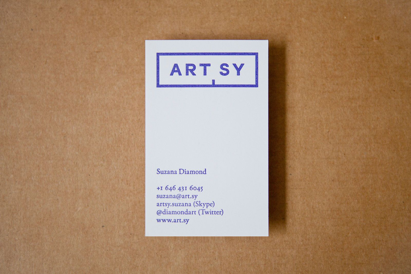 ARTSY business card / by Common Name | My Style | Pinterest ...