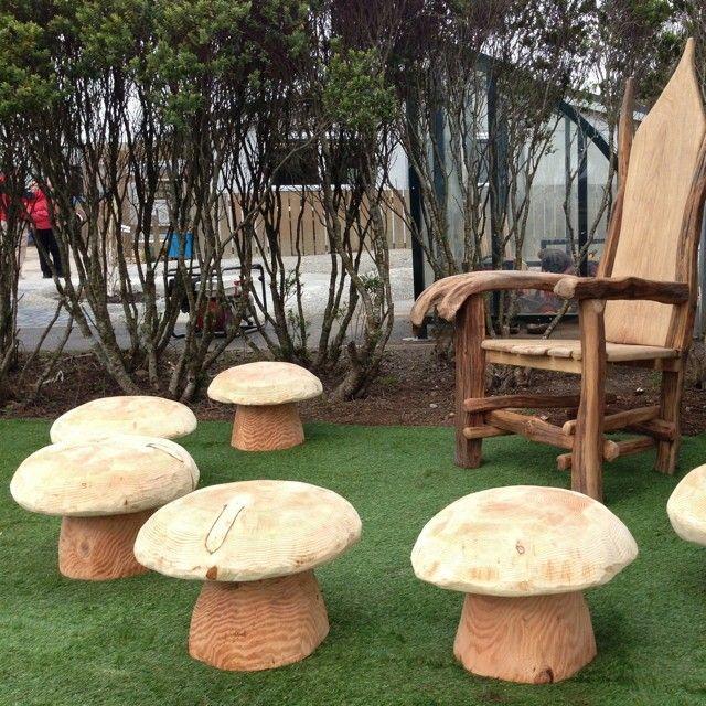 Storytelling Mushroom Stools