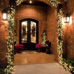 Diy Houzz Has Some Great Green Ideas Christmas Entryway