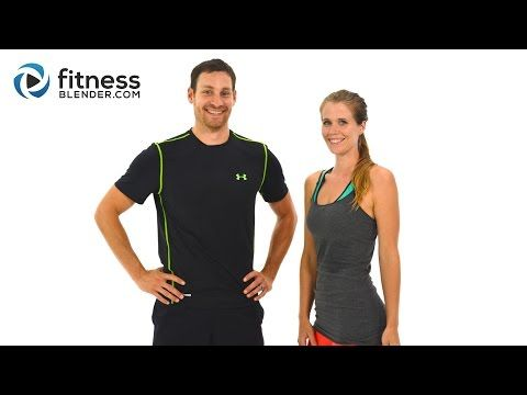 Day 3: HIIT Cardio & Abs - Fitness Blender's 5 Day Workout Challenge to Burn Fat & Build Lean Muscle
