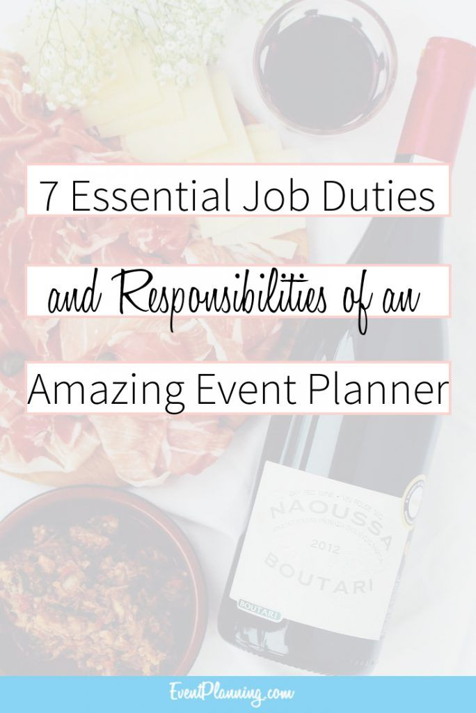 Event Planning Job Description And Responsibilities  Planners Taps