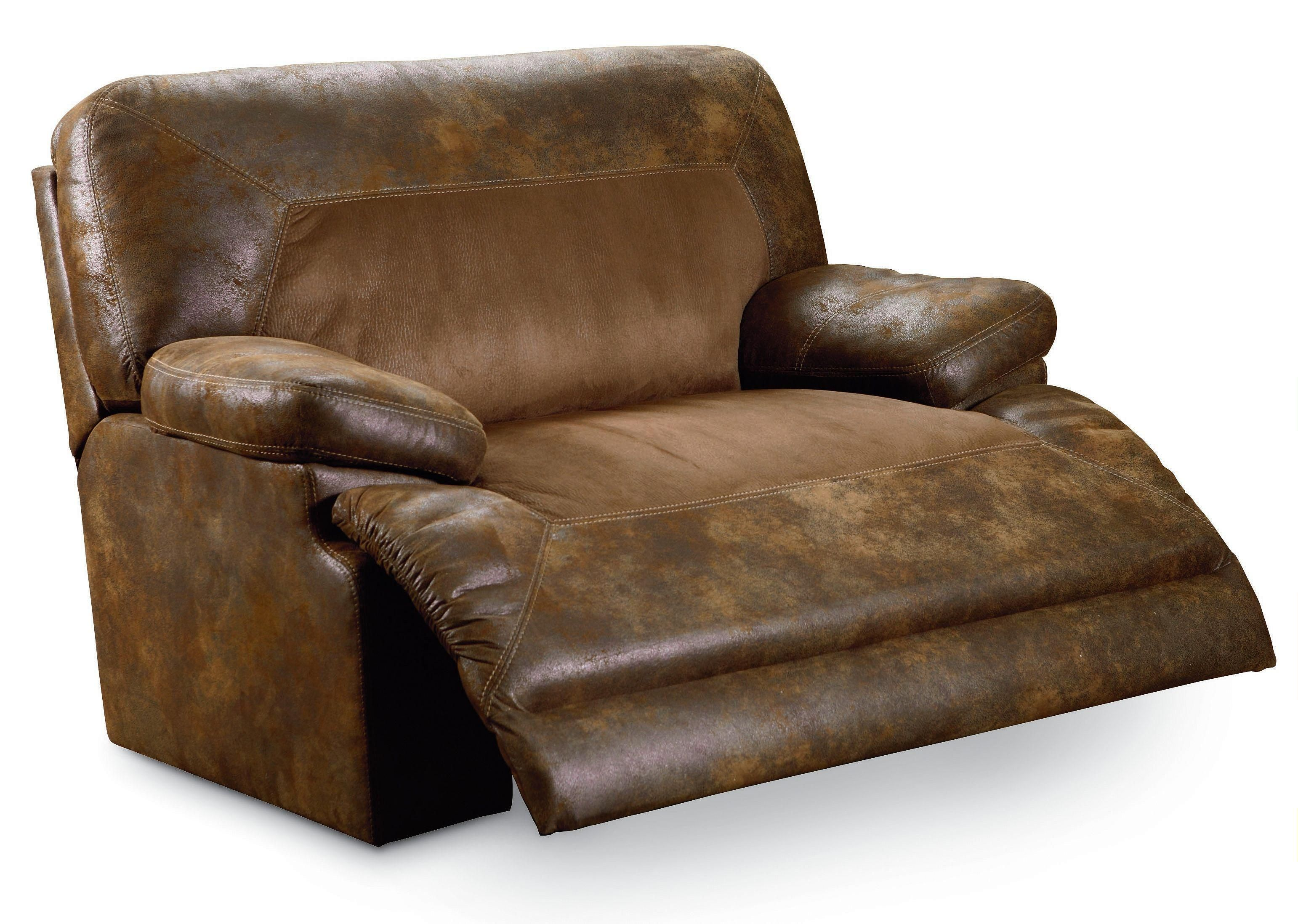 Bradley Two Toned Oversized Snuggler Recliner By Lane Riverview Galleries Three Way Furniture Nc Located In Durham