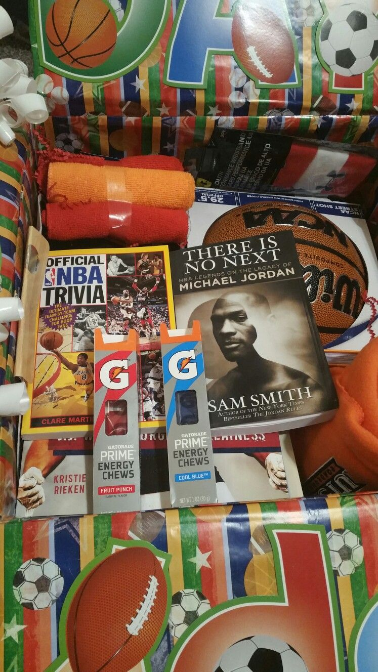 Basketball care package for my son who lives far away Basketball