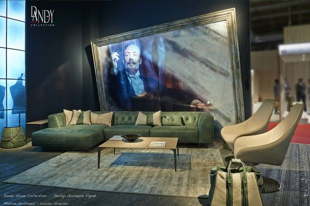 Arredamento Rock ~ Mcqueen sectional sofa is fit for a rock star style featuring