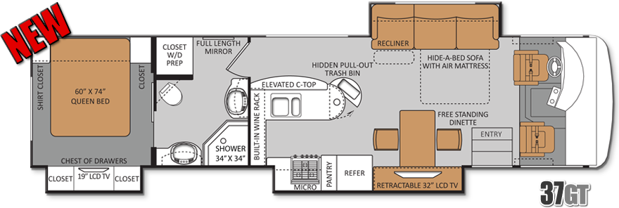 17 Best 1000 images about RV Wagon Tiny Home Floor Plans on