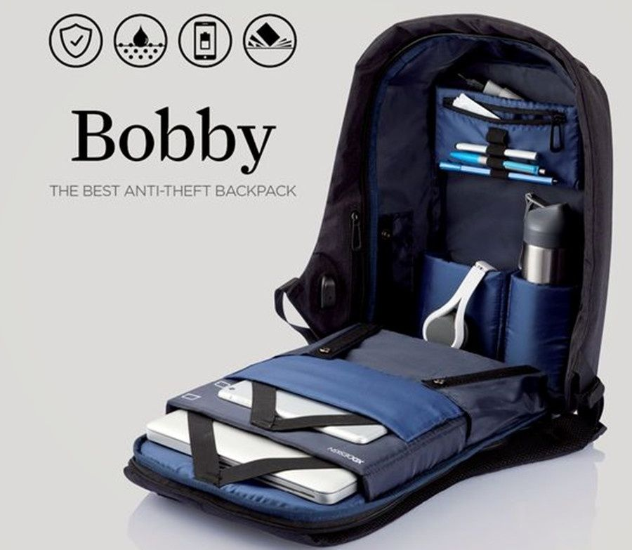 9bf315602926 Keep your laptop and other things safe in your bag using our anti theft  backpack