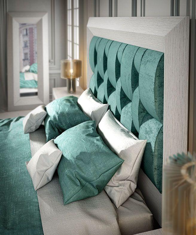 Elegant #cabecero #headboard #dormitorio Colección ENZO De Franco Furniture  Http://www