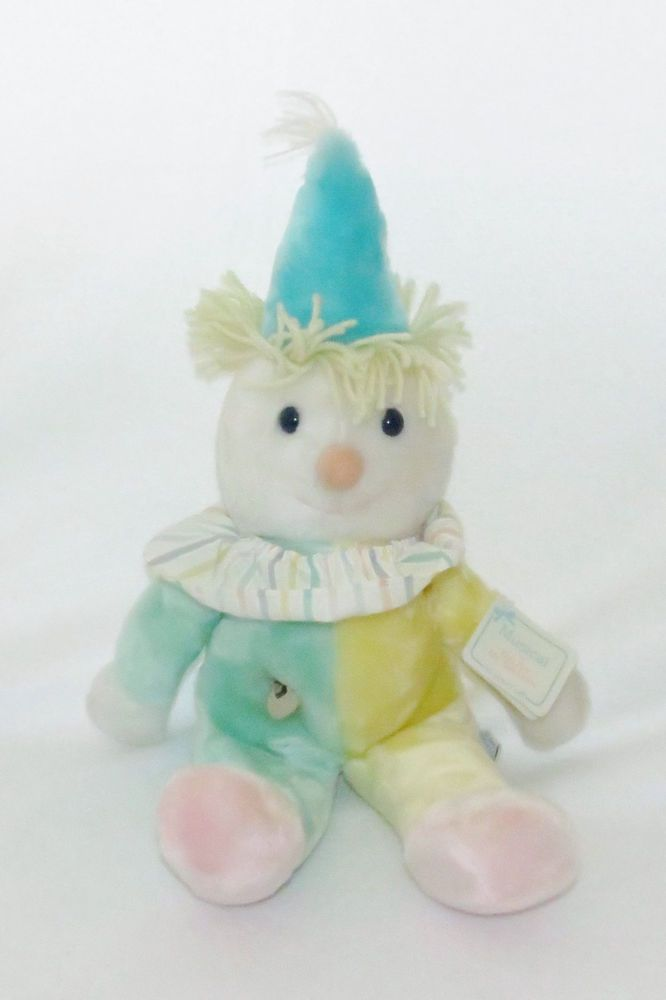 Eden Clown You Are My Sunshine Musical Plush Turn Key Old Toy 16