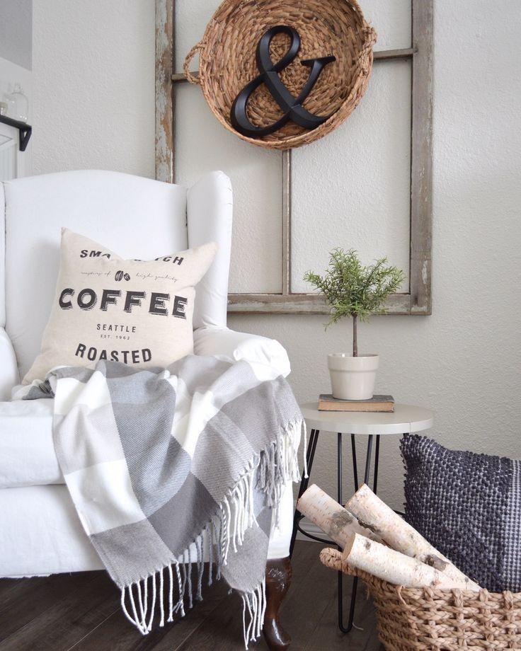 Simple Winter Decor For Love Of Winter Modern Farmhouse