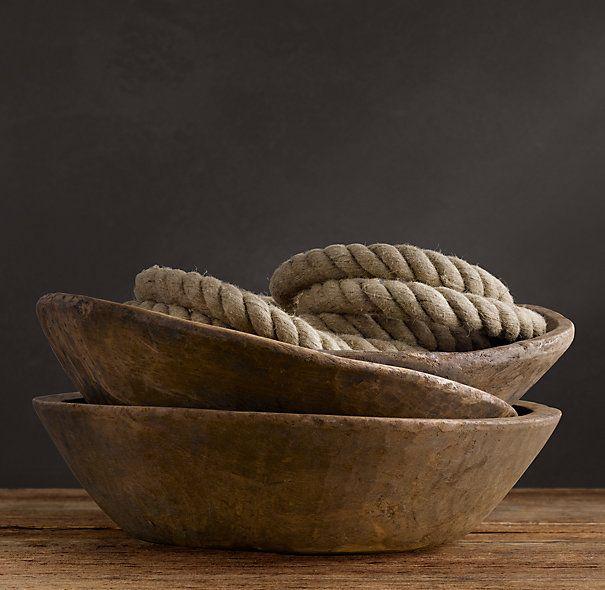 Vintage Naan Bowl