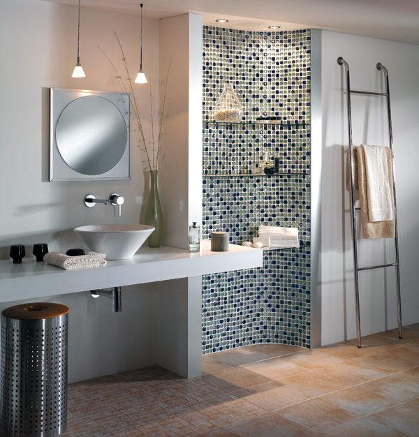ديكورات حمامات موزاييك مودرن فخمة جدا ميكساتك Bathroom Mirror Framed Bathroom Mirror Lighted Bathroom Mirror