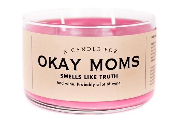 Candle for Okay Moms #middlechildhumor