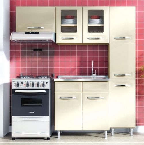 ikea move over bertolini steel kitchens introduces affordable ready to assemble metal kitchen cabinets to the us - Retro Metal Kitchen Cabinets
