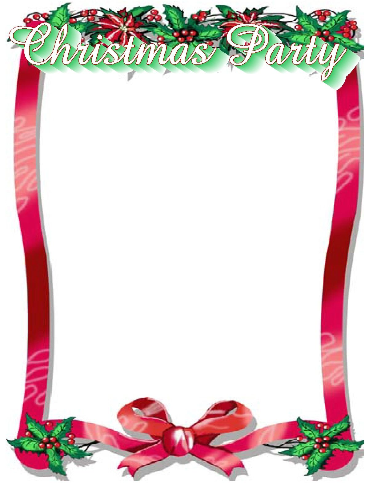 Free Ms Word Christmas Borders Colona Rsd7 With Word Border Templates Free Dow Christmas Templates Free Free Christmas Flyer Templates Holiday Flyer Template