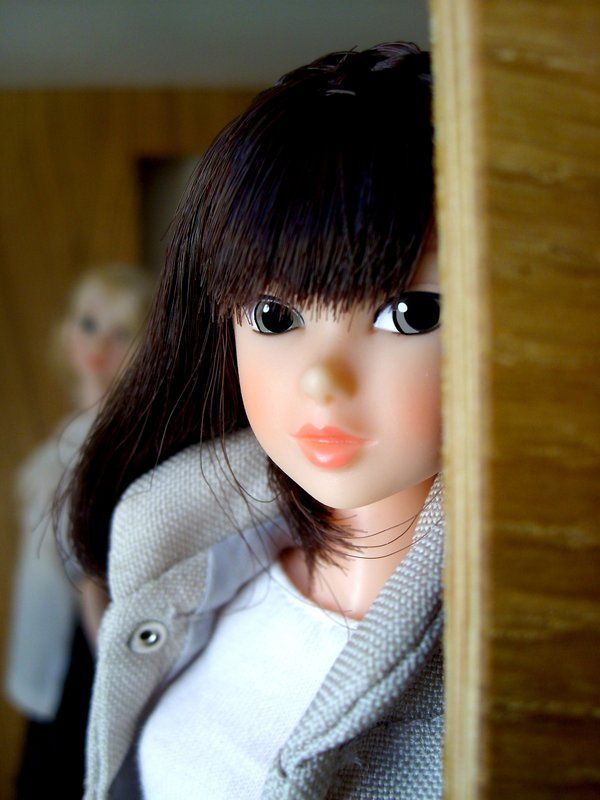 Maria Luisa Marchio ‏@moon_s_rabbit 3月21日  「A Winter Sketch can keep a secret with Ambivalent Girl」 #momokoph