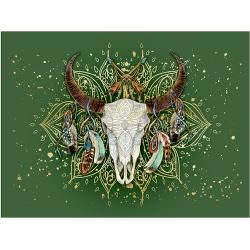 ProArt Young Living Art Print on Stretcher (Abstract Animal I, 120 x 90 cm) Bauhaus.info  – Products